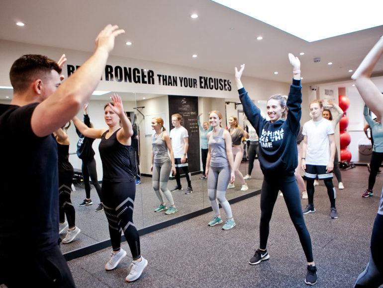 Progressive Fitness HIIT Class