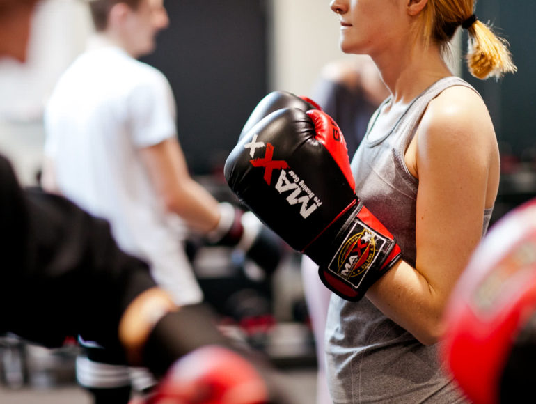Progressive Fitness Boxing Class