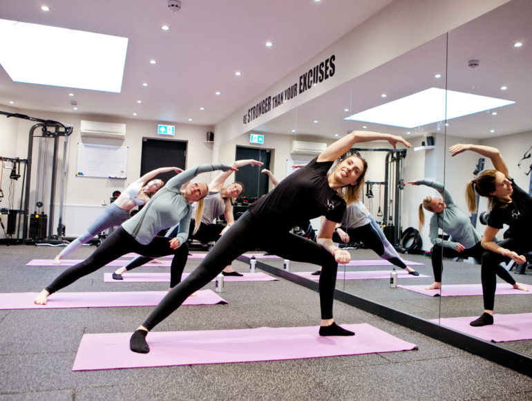 Progressive Fitness Pilates Class