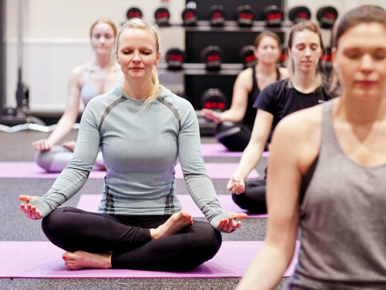 Progressive Fitness Yoga Class